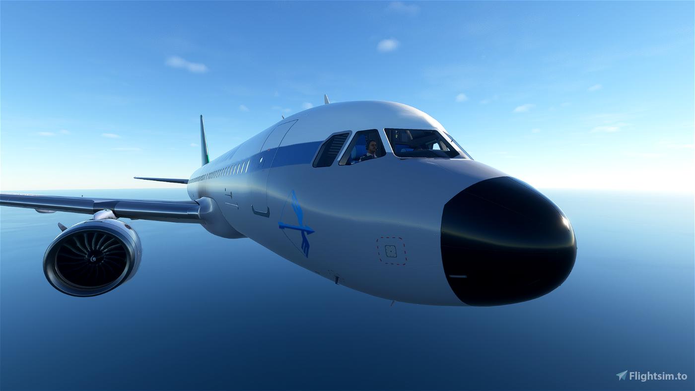 [A32NX] Alitalia Retro