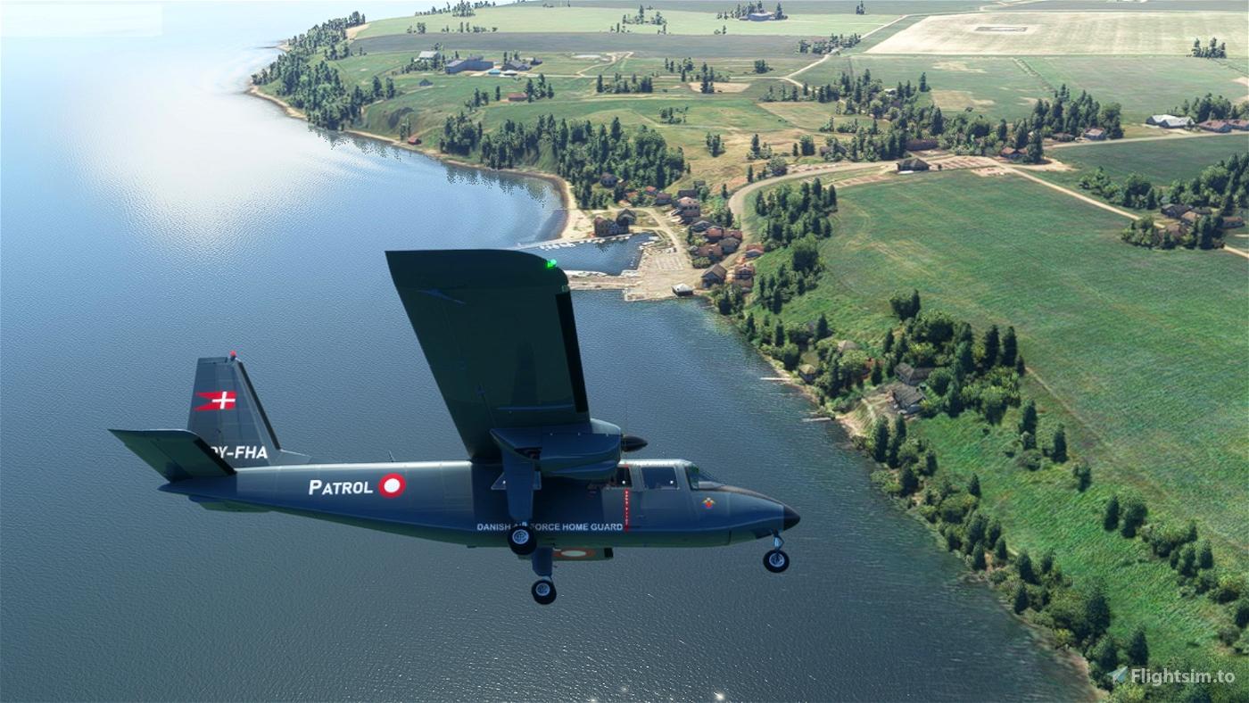 Blackbox_BN-2_OY-FHA Microsoft Flight Simulator