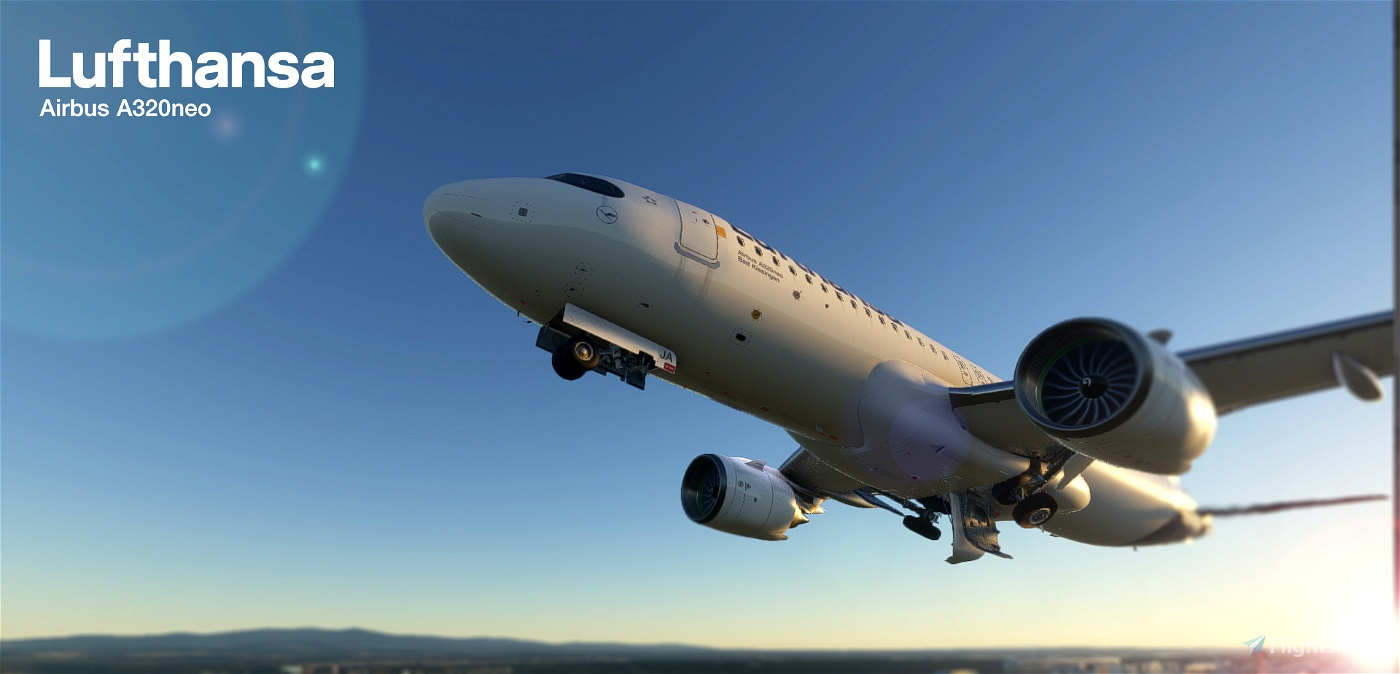 [A32NX] FlyByWire and all mod   Airbus A320neo Lufthansa D-AIJA   in [8k] OFFICIAL Realistic