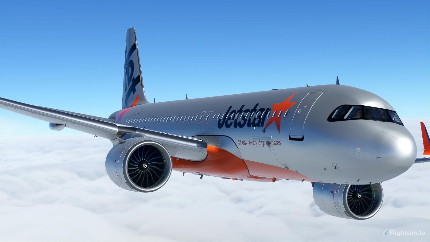 [A32NX] (13bandit) A320neo Jetstar Airways [8k] VH-XSJ