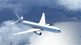 CaptainSim B777-200 White - Paint Kit Microsoft Flight Simulator