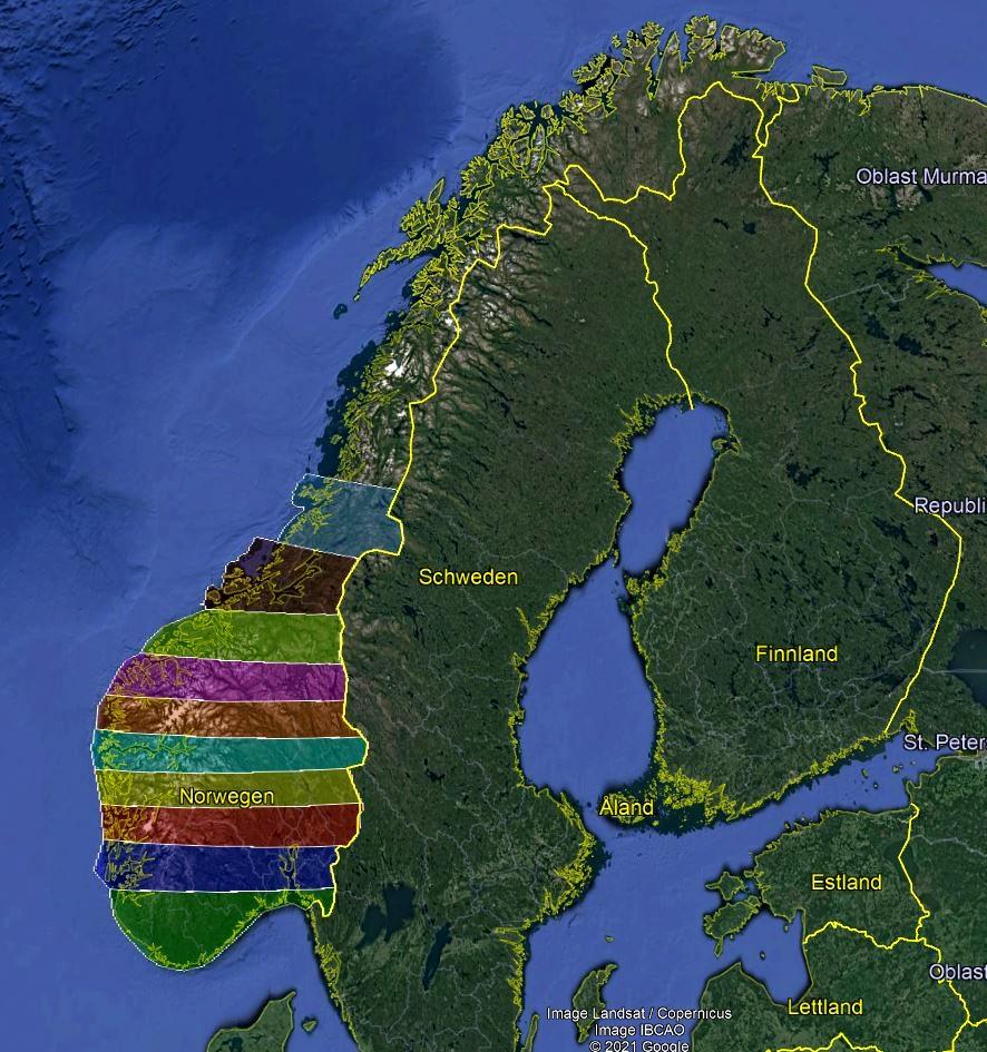 NORWAY 20m DEM Part 1 - High Resolution Terrain Elevation Data from LIDAR Imaging