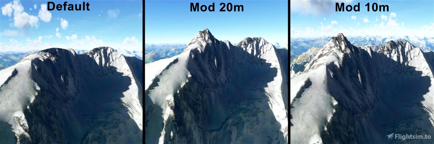 AUSTRIA 20m DEM - High Resolution Terrain Elevation Data from LIDAR Imaging