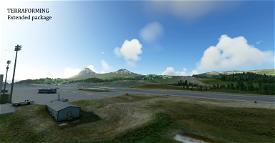 ENBL, Førde airport, Bringeland + DEM 1m mesh Microsoft Flight Simulator