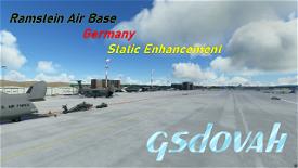 Ramstein Air Base - ETAR - Germany - Static Enhancement Microsoft Flight Simulator