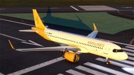 [A32NX] A320 AWALINES livery Microsoft Flight Simulator