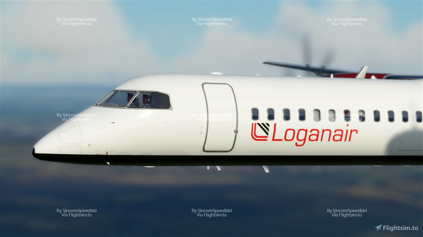 Loganair | Dash8 Q400 [Fictional]