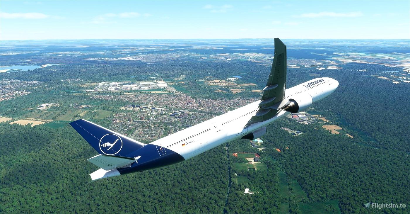 Lufthansa CaptainSim 777-300ER 8K » Microsoft Flight Simulator