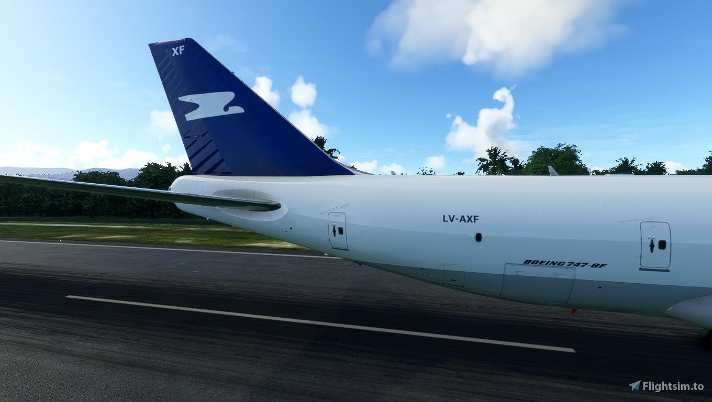 Asobo 747-8i Aerolineas Argentinas Cargo (No Mirroring)