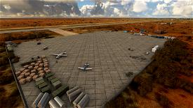 HCMR - Gaalkacyo Airport  Microsoft Flight Simulator