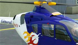 Airbus H135 Littoral Airlines Microsoft Flight Simulator