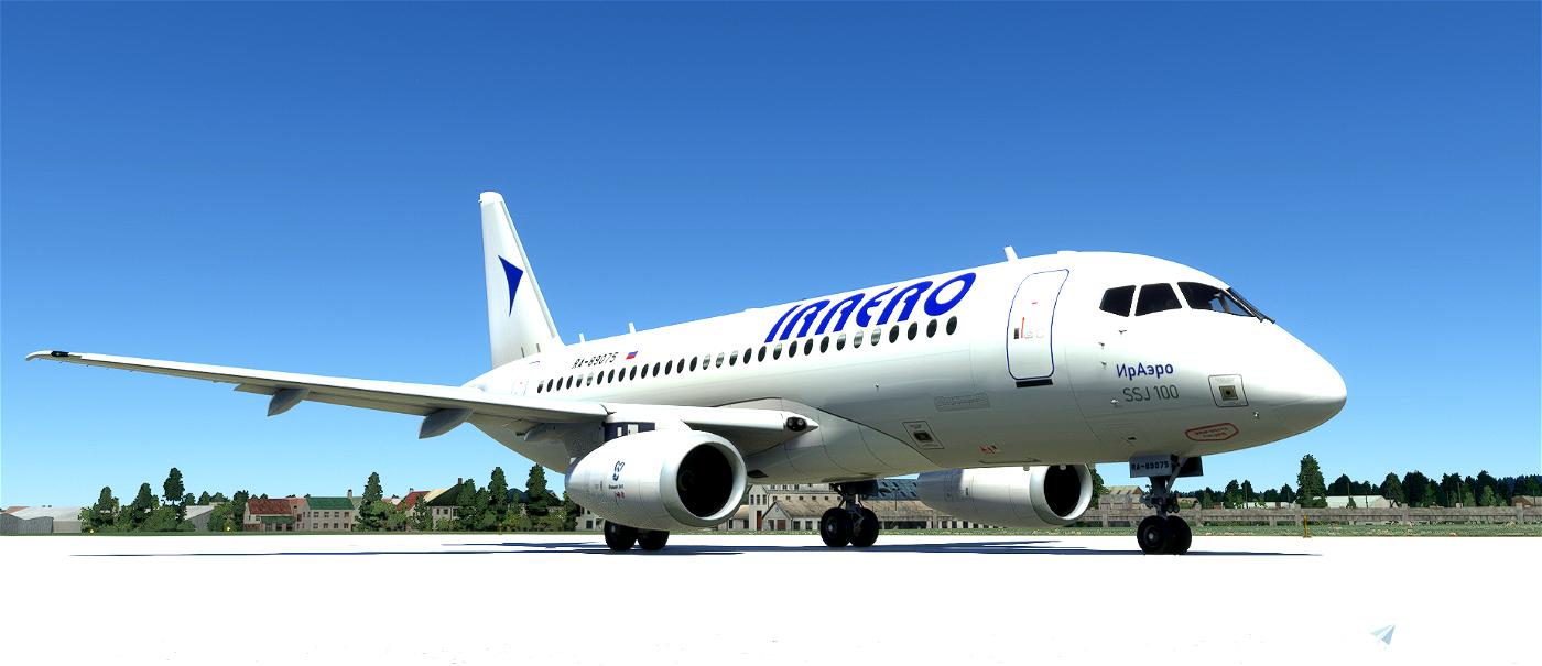 Sukhoi Superjet 100 IrAero