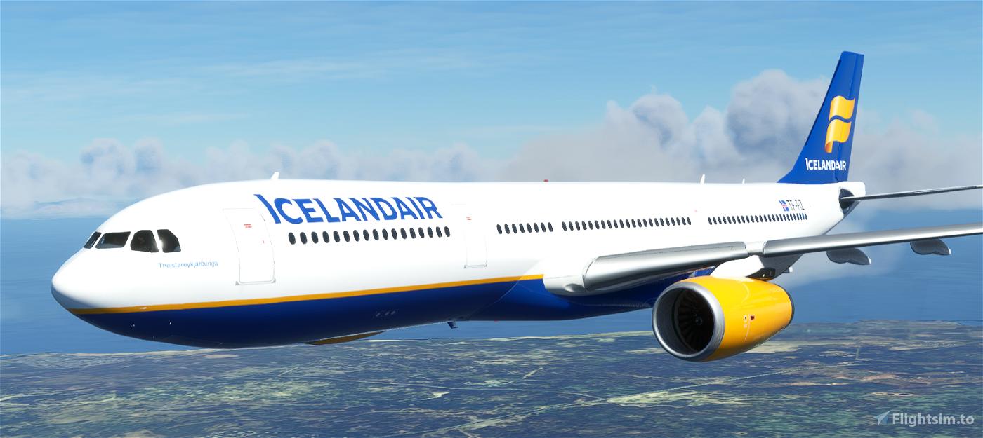 A330-300 Icelandair [8K Fictional] Flight Simulator 2020