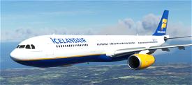 A330-300 Icelandair [8K Fictional] Microsoft Flight Simulator