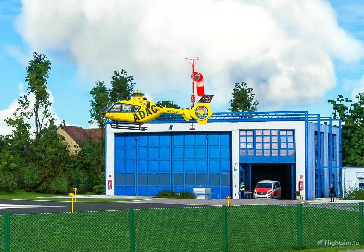 Helipads in Northern Bavaria + Emergency scenarios Microsoft Flight Simulator