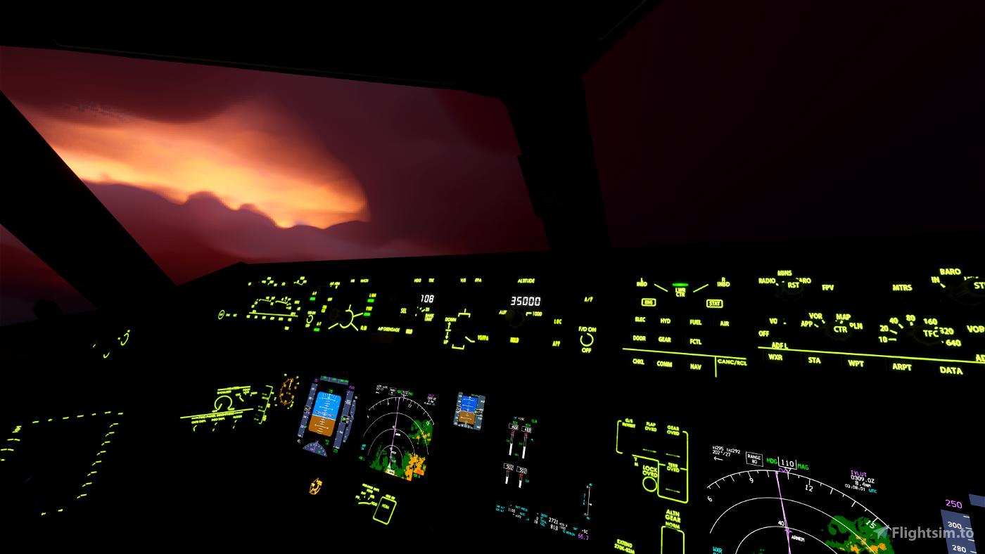 CaptainSim 777F, 777-200ER, 777-300ER Salty Compatibility Mod