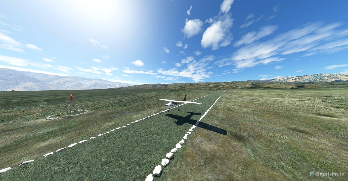 The Chicken Strip - Death Valley's National Parks unofficial airstrip!