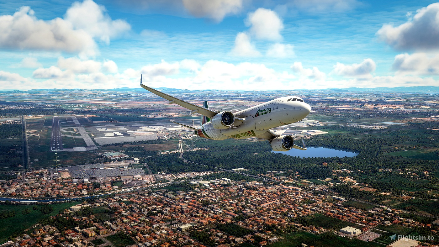 Alitalia Mission: Rome-Naples