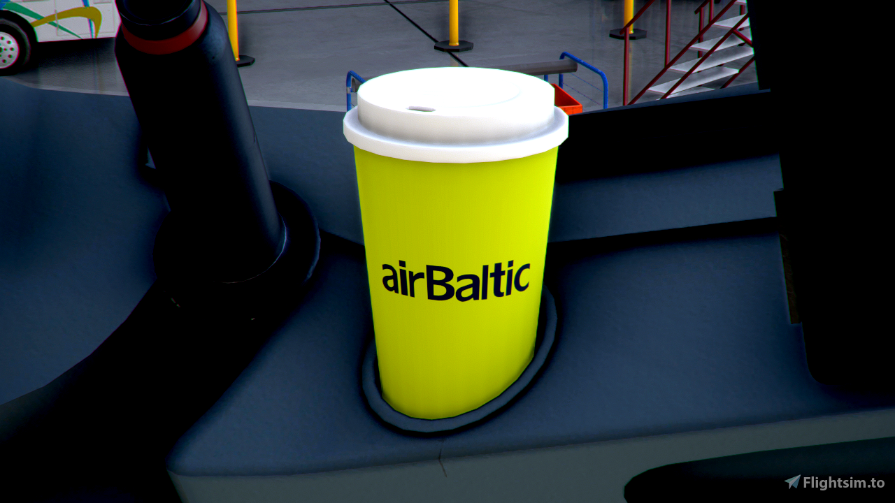 Sukhoi Superjet 100 airBaltic (fictional)