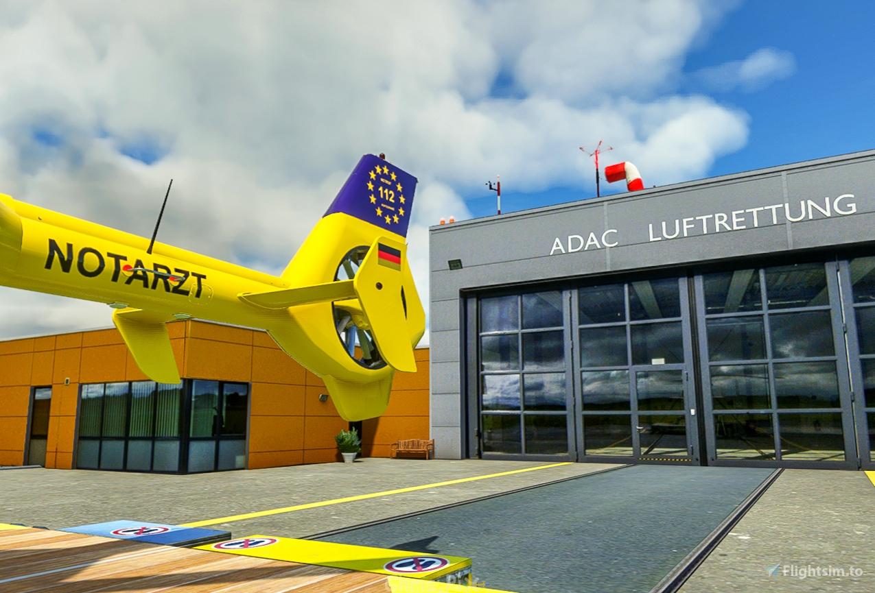 ADAC Luftrettungszentrum Christoph Europa 1 / Aachen-Merzbrück (EDKA)