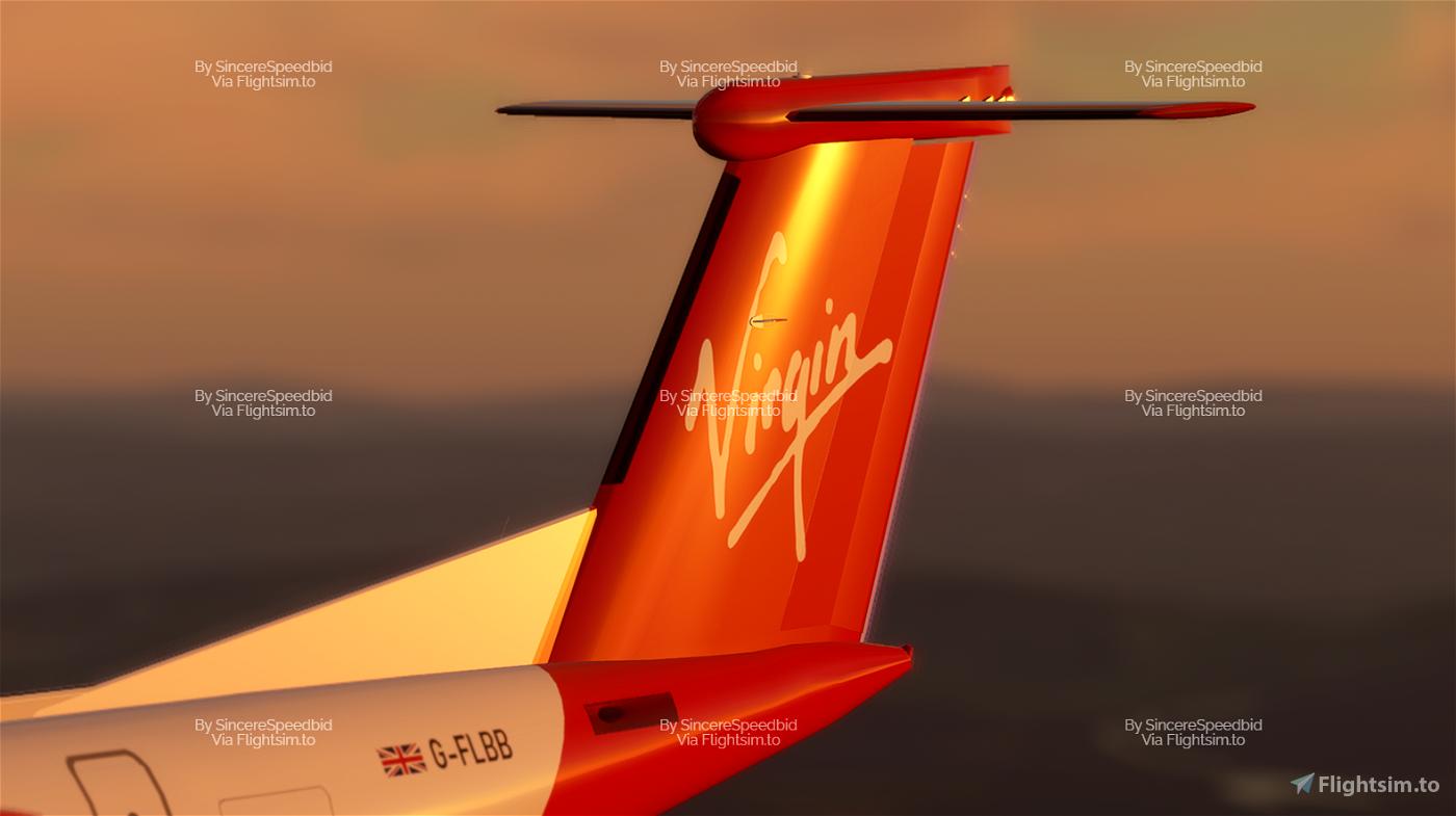 Virgin Connect | Dash8 Q400 [Concept]