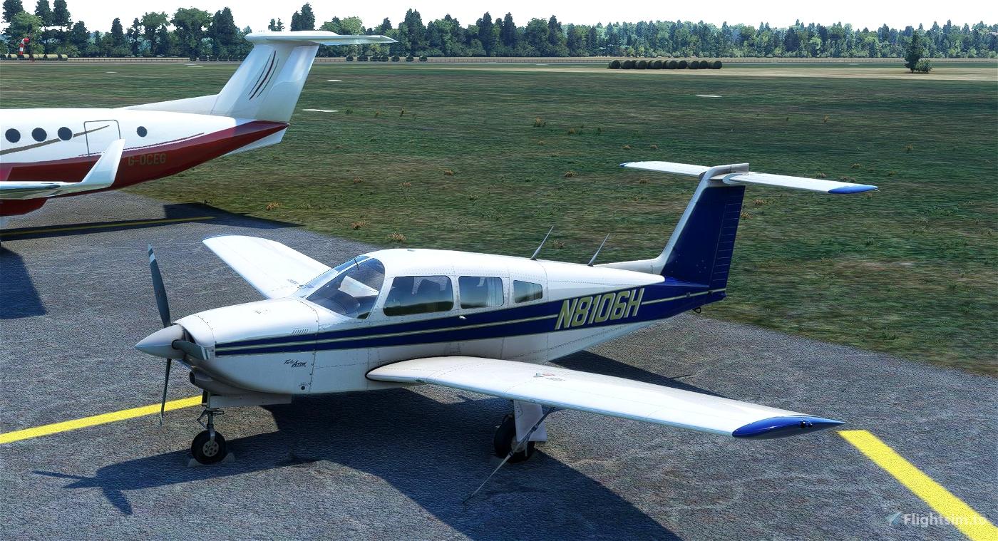 Just Flight's TurboArrow IV N8106H