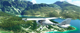 The gorges of verdons and the alps of haute provence Microsoft Flight Simulator