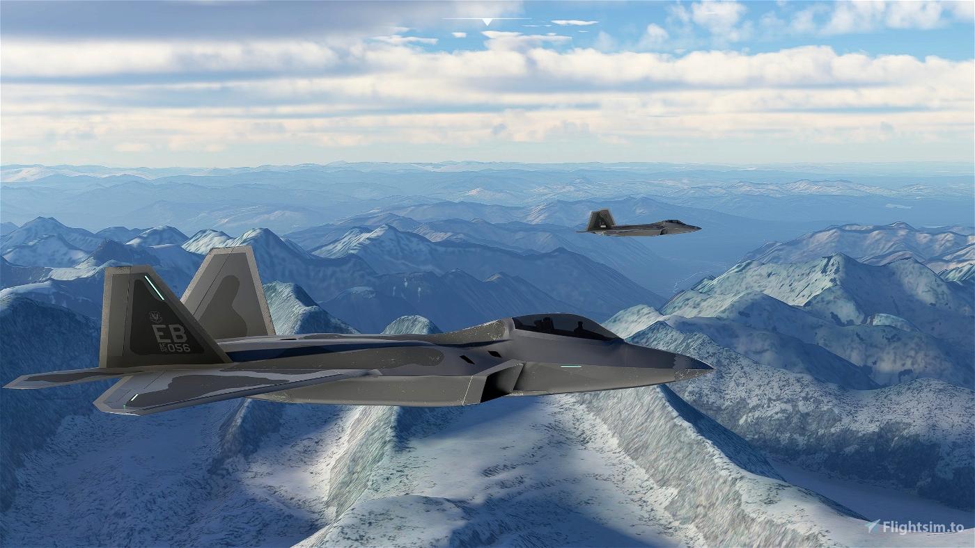 Lockheed Martin F-22A Raptor: Top Mach Studios Freeware Edition