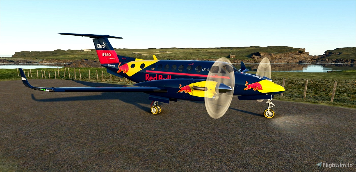 Red Bull F1 King Air 350i