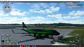 A320 Neo 4K Green Marble Livery Microsoft Flight Simulator
