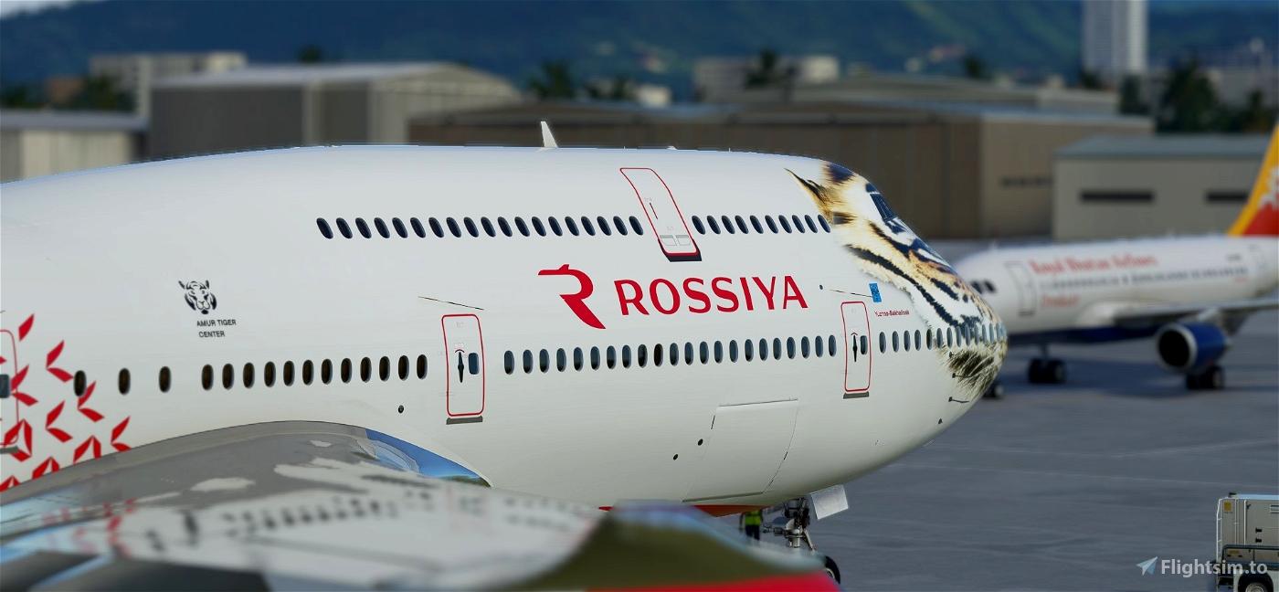Boeing 747-8 Rossiya Tigrolet (non-mirror)
