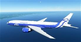 AirBridgeCargo , Air Bridge Cargo , ABC Cargo CaptainSim 777-200F 8K Microsoft Flight Simulator