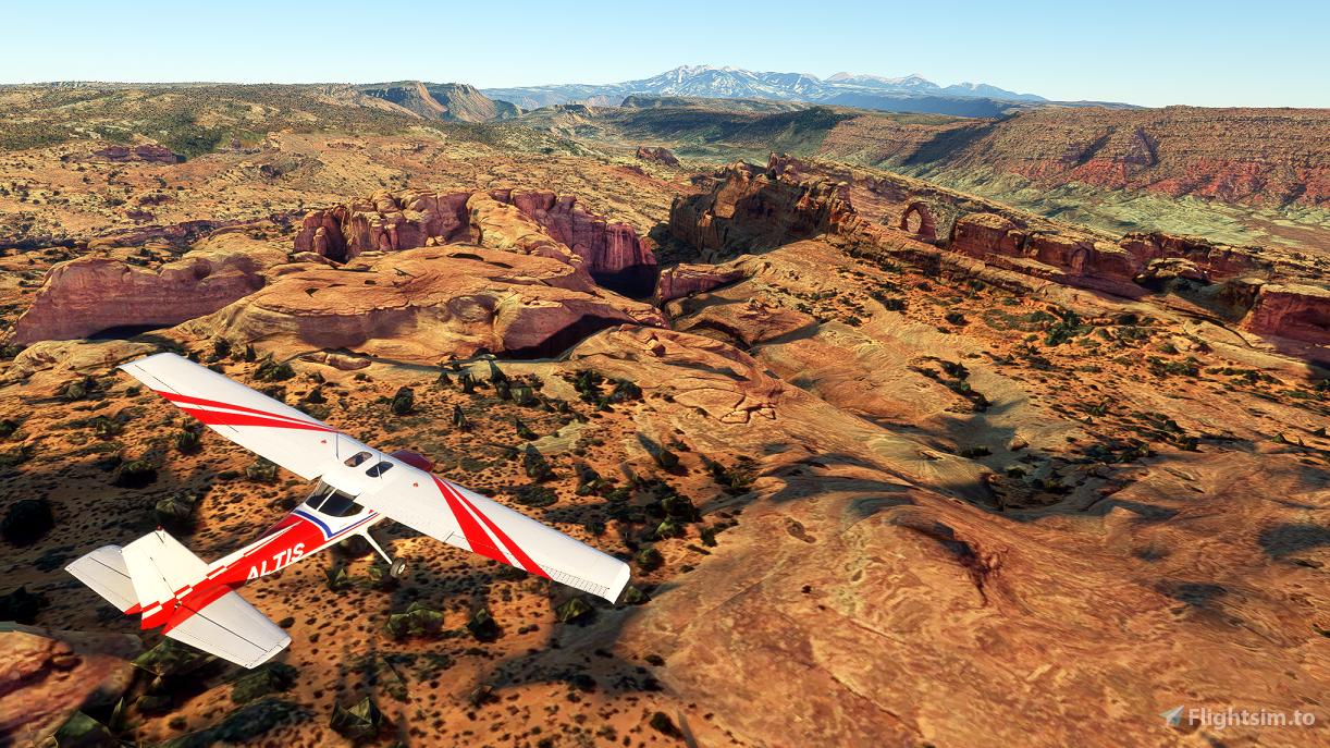 Arches National Park Flight Plan