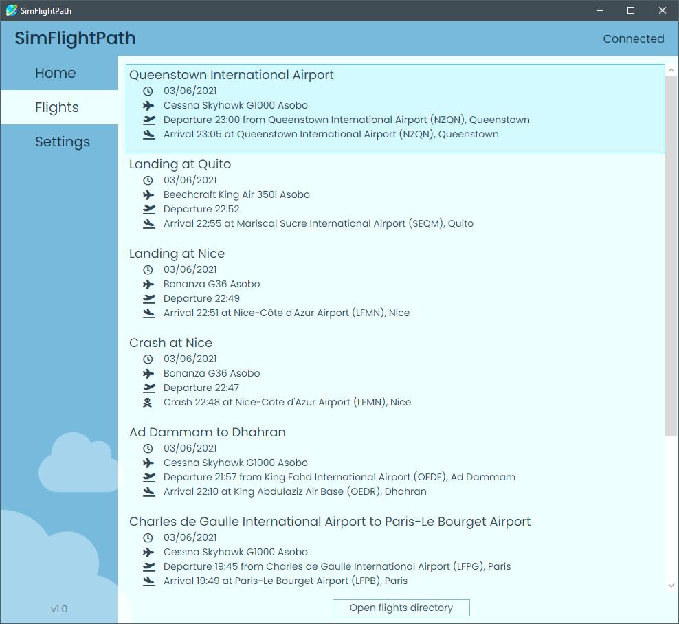 SimFlightPath