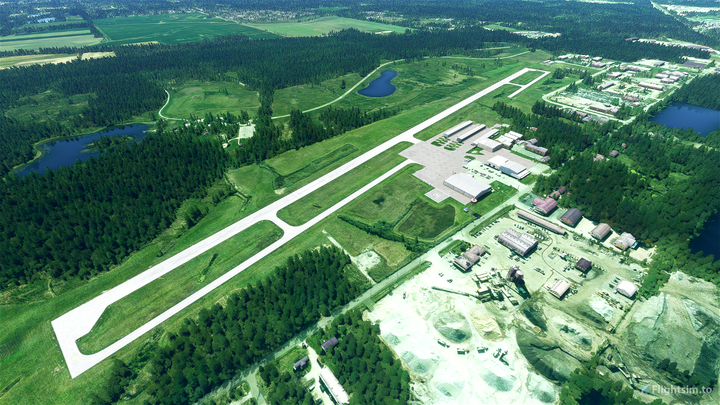 05C Griffith-Merrillville Airport - Griffith, Indiana  Microsoft Flight Simulator