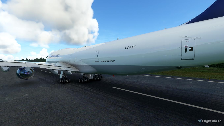 Asobo 747-8i Aerolineas Argentinas Cargo (No Mirroring) Flight Simulator 2020