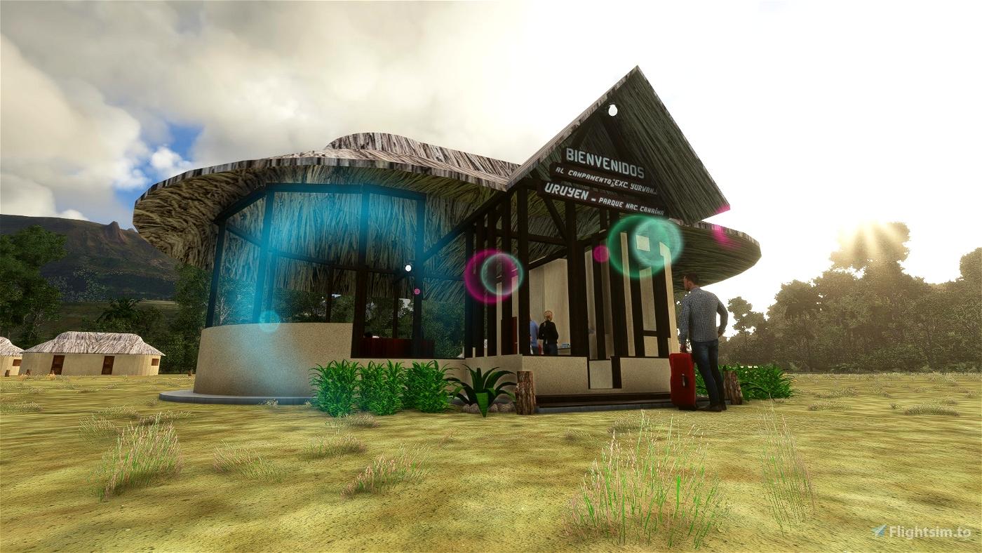 Campamento Uruyen SVUY Microsoft Flight Simulator