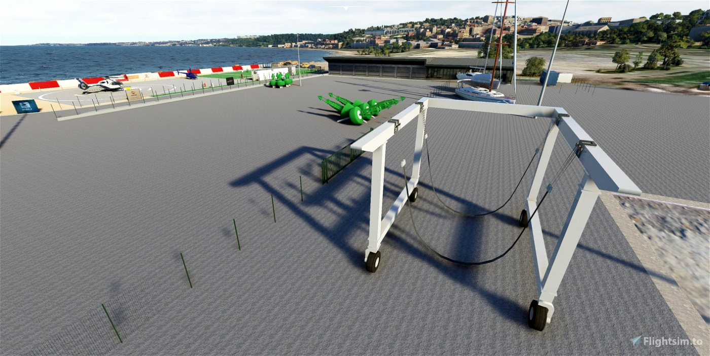 LPJB - Lisbon Helicopters (HIGH detail)