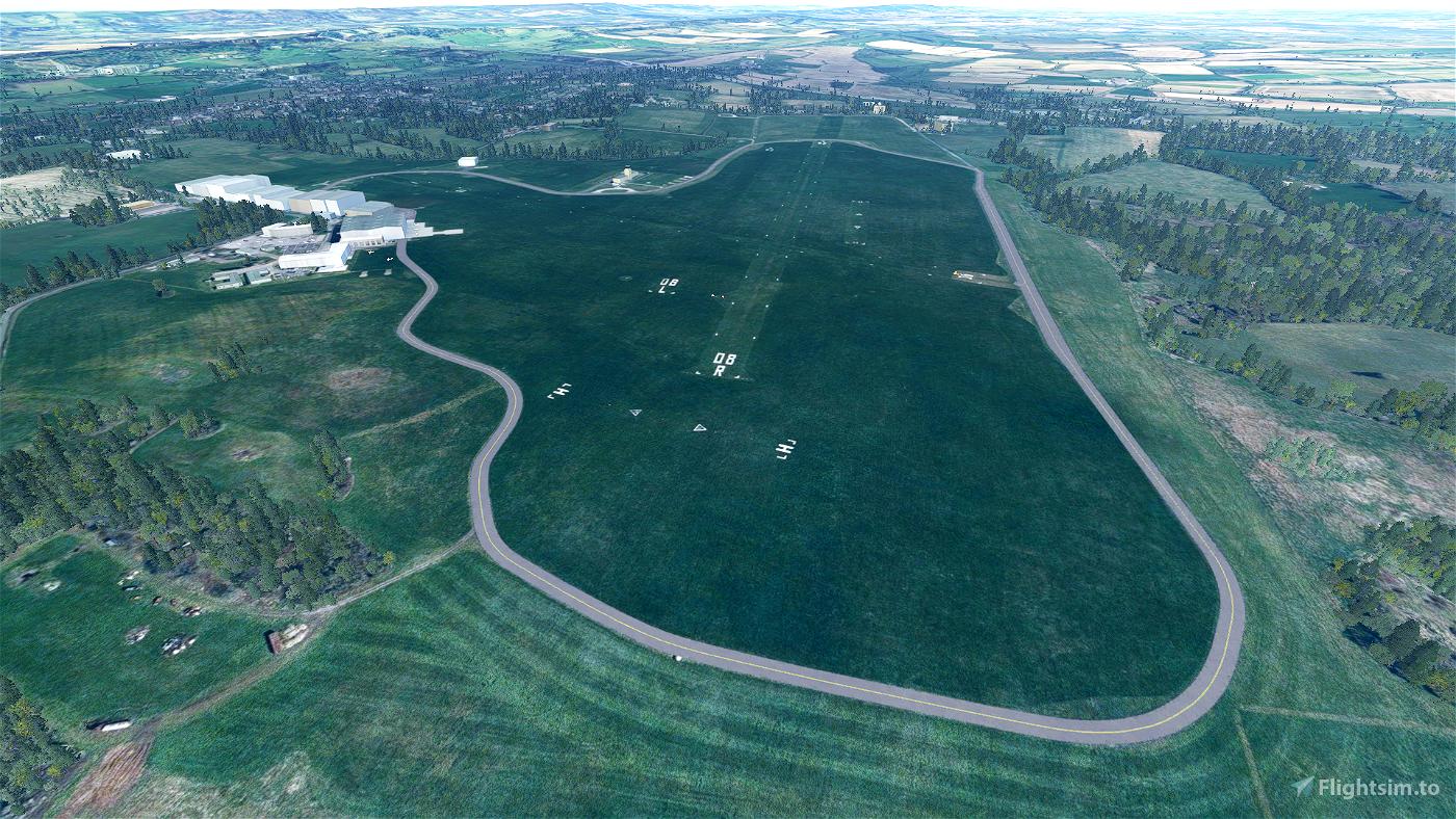 Redhill EGKR Flight Simulator 2020