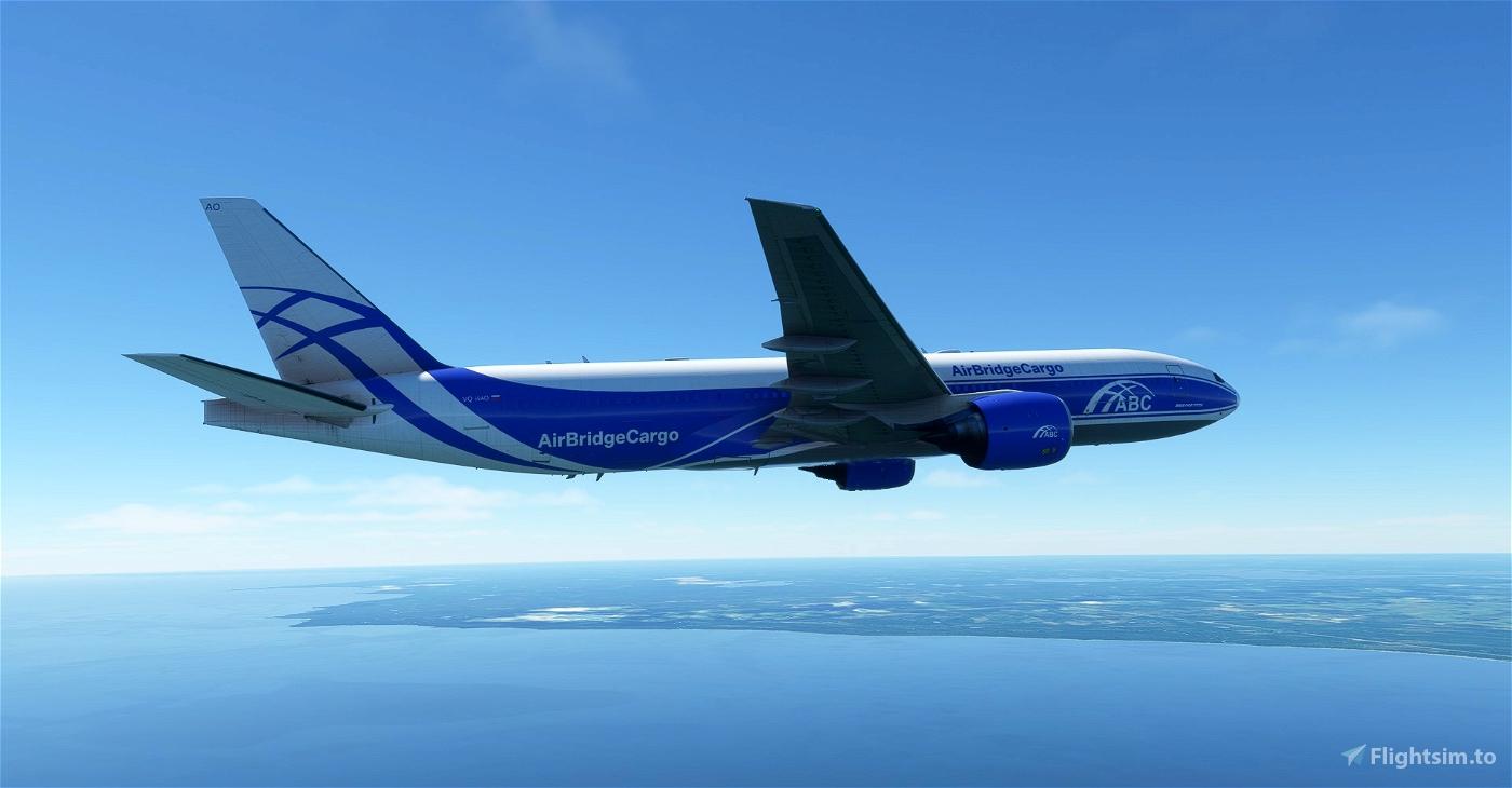 AirBridgeCargo , Air Bridge Cargo , ABC Cargo CaptainSim 777-200F 8K