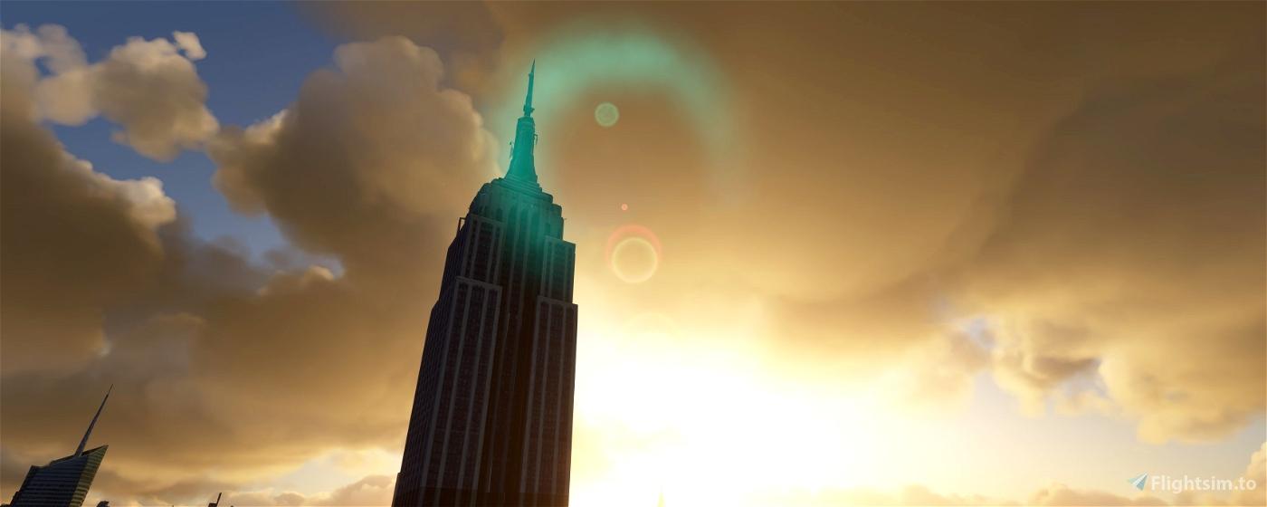NYC Midtown Microsoft Flight Simulator
