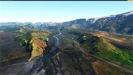 Iskort.is -  Iceland 20m DEM Microsoft Flight Simulator