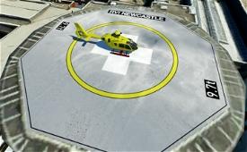 Royal Victoria Infirmary with Helipad | Newcastle-Upon-Tyne, UK Microsoft Flight Simulator