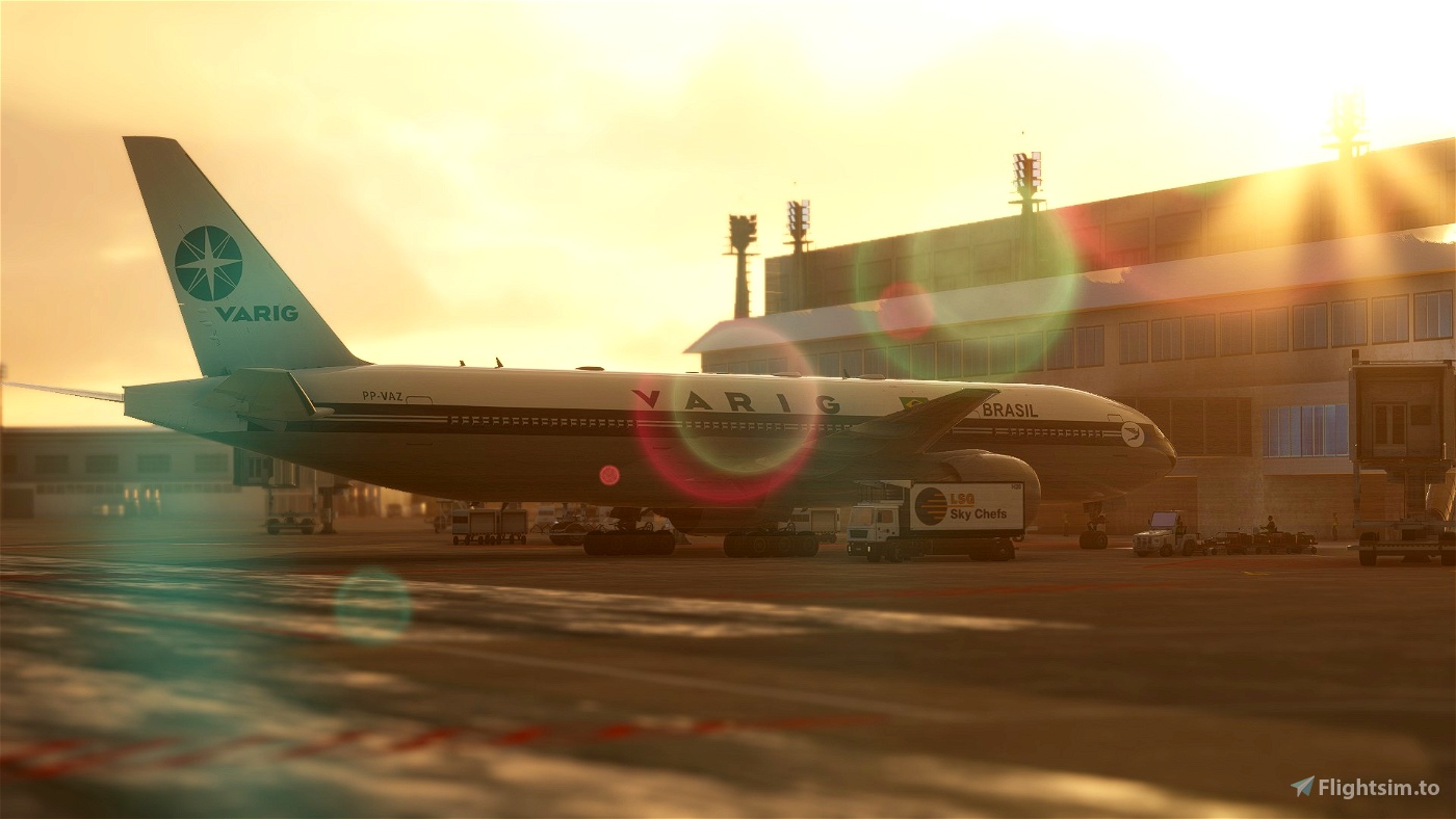 CS-777-200ER PP-VAZ - VARIG RETRO 1996