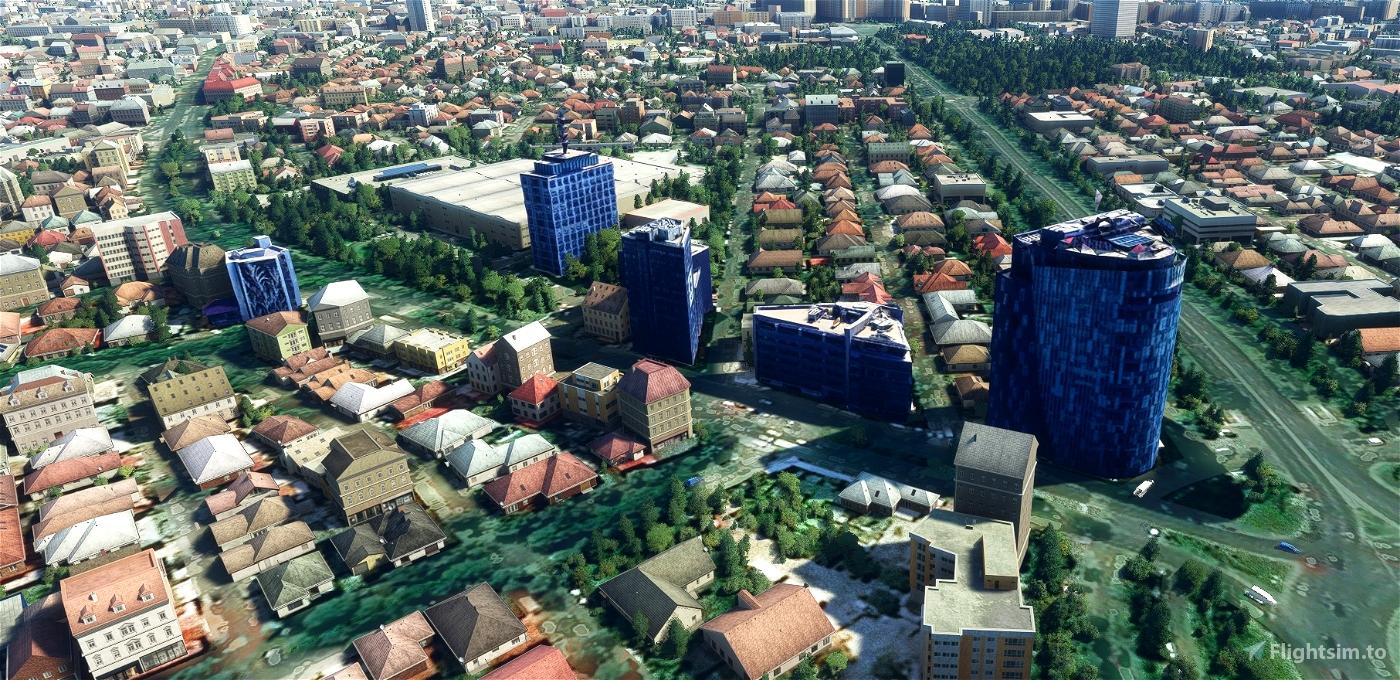 Bucharest - Romania - Lite Version + helipads