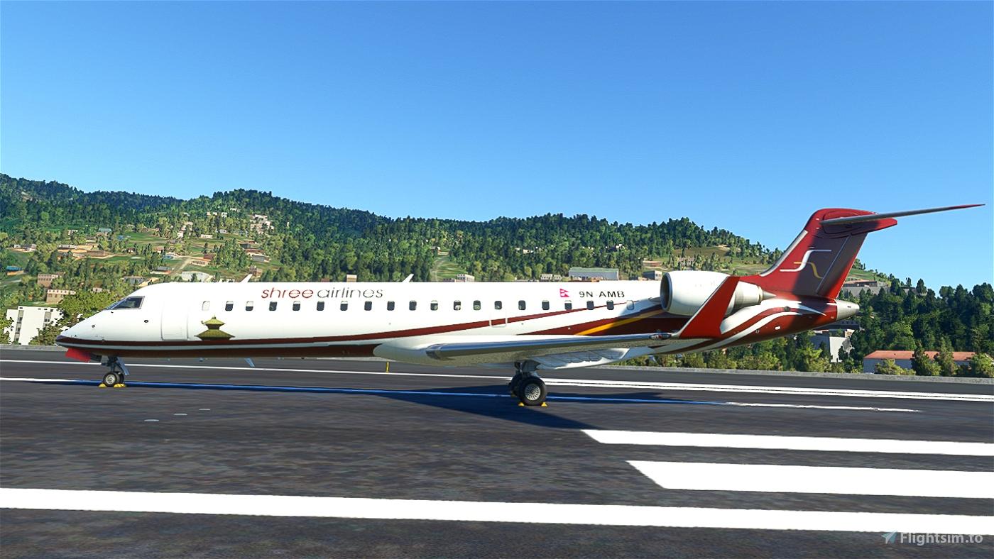 Shree Airlines CRJ 700 (9N-AMB)