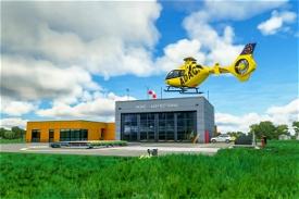 ADAC Luftrettungszentrum Christoph Europa 1 / Aachen-Merzbrück (EDKA) Microsoft Flight Simulator