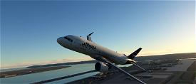 [A32NX] [FBW] Lufthansa [10K] (Dirty Version) Coffee Cup (D-AINN) No Text Mirroring  Microsoft Flight Simulator