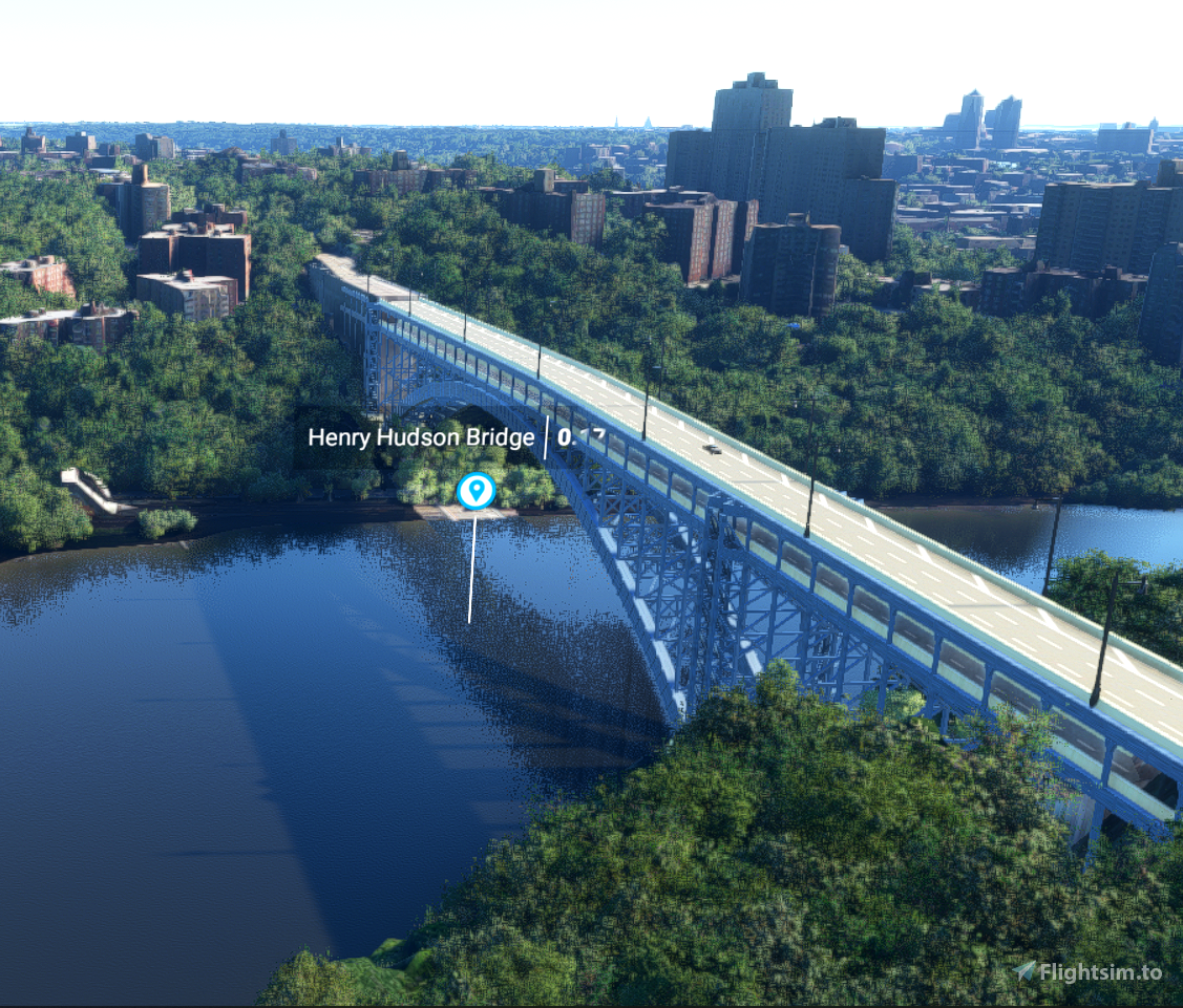 All 29 New York Bridges  - Sample Microsoft Flight Simulator