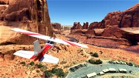 Arches National Park Flight Plan Microsoft Flight Simulator